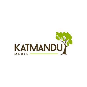 Regały drewniane białe - Meble Katmandu